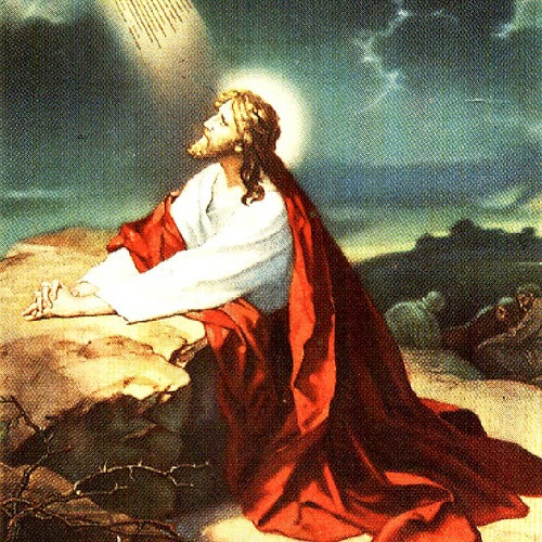 Молитвата на Исус в Гетсимания