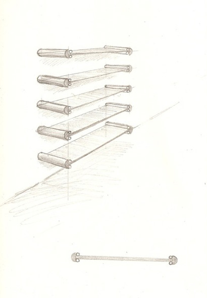 shelves sketch