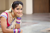 Actress Sony looking Gorgeous in Saree-thumbnail-7
