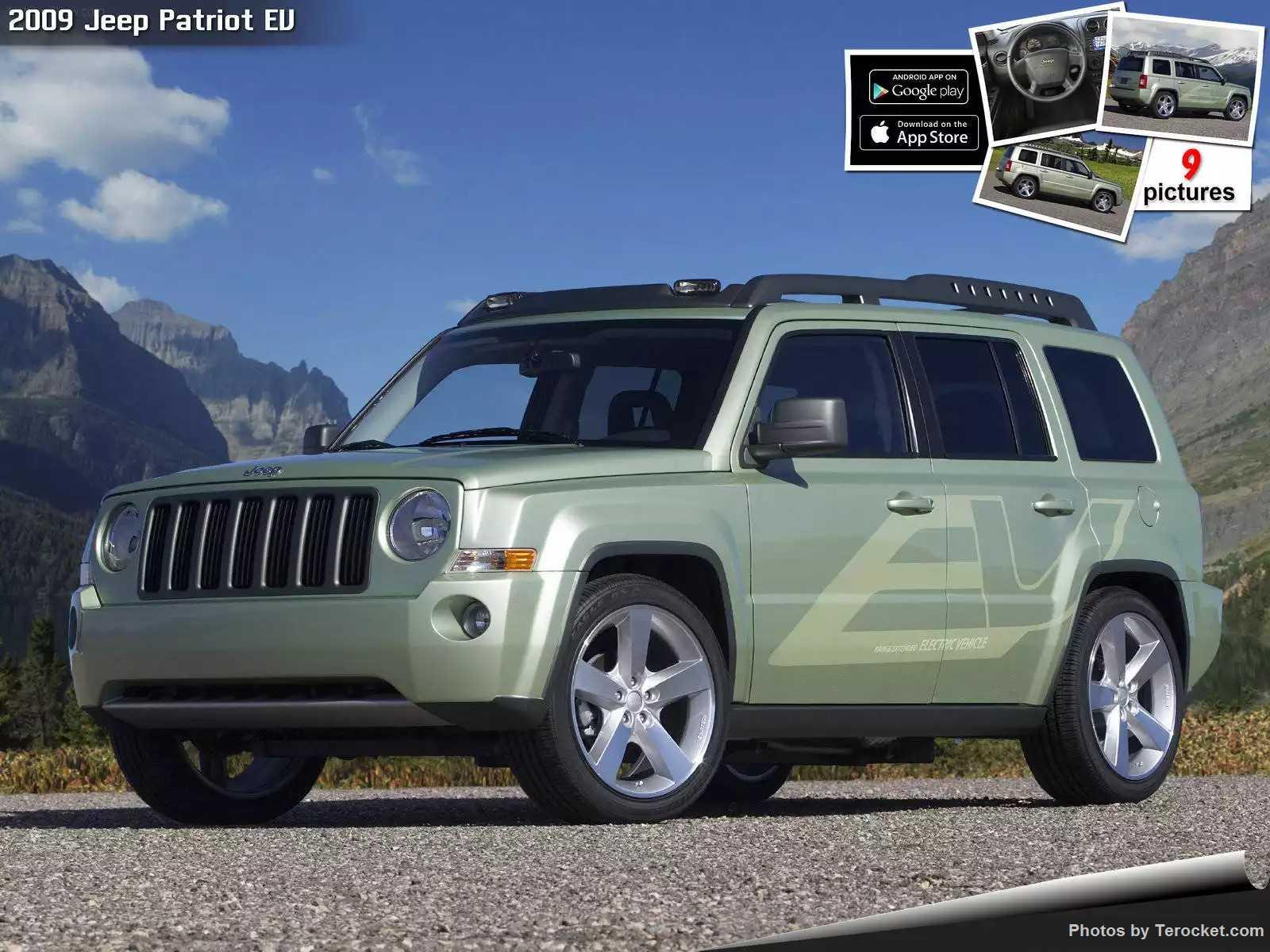 Hình ảnh xe ô tô Jeep Patriot EV 2009 & nội ngoại thất