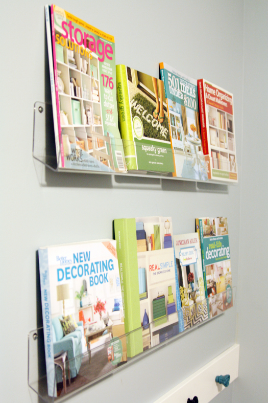 Acrylic Book Display Shelves