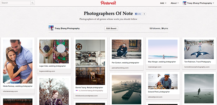 Photographers to follow on social media