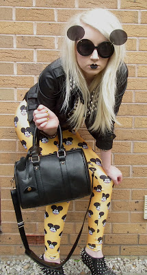 Sammi Jackson - Le Souris Mickey leggings