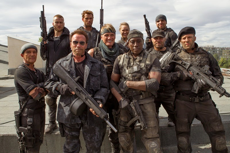 Expendables: Postradatelní 3 (The Expendables 3) – Recenze