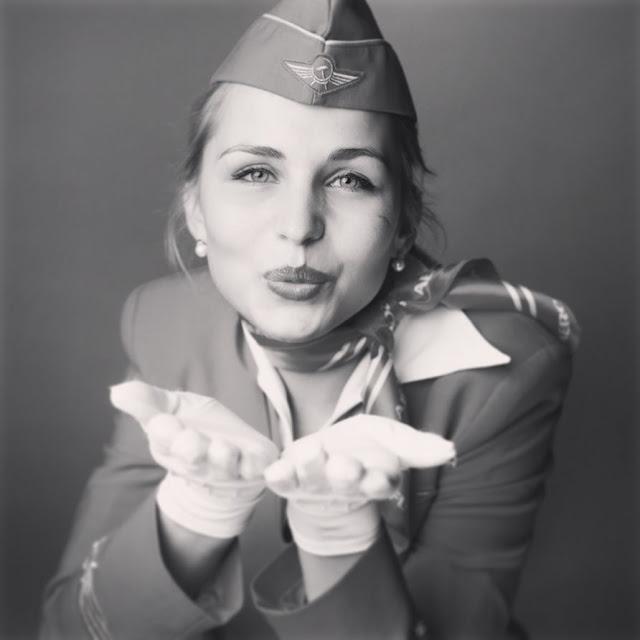 Татьяна Околова: вместо актрисы - в стюардессы Аэрофлота!