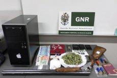Imagem GNR - Apreensão de diverso material