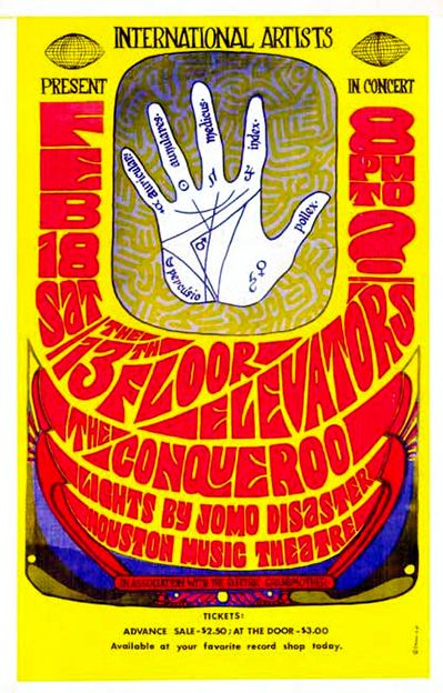 Texas psych psychedelic music 13th floor elevators for 13 floor elevators discography