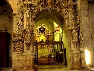 Capilla de San Carlos Borromeo en la Catedral de Barbastro (Somontano, Huesca, Aragón, España)