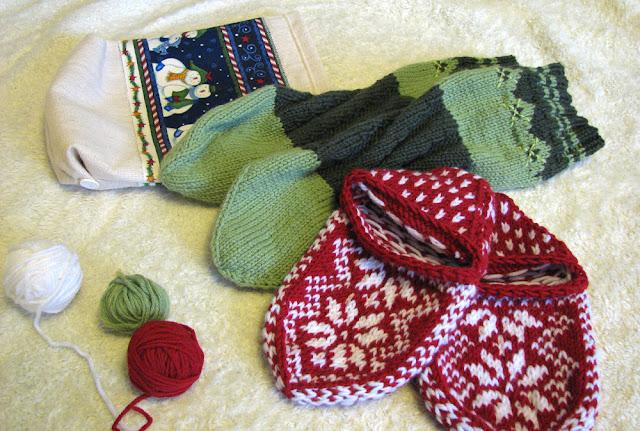 подарки на новый год, носки спицами, жаккард, вязание спицами