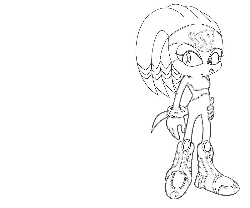 printable-shade-the-echidna-character_coloring-pages