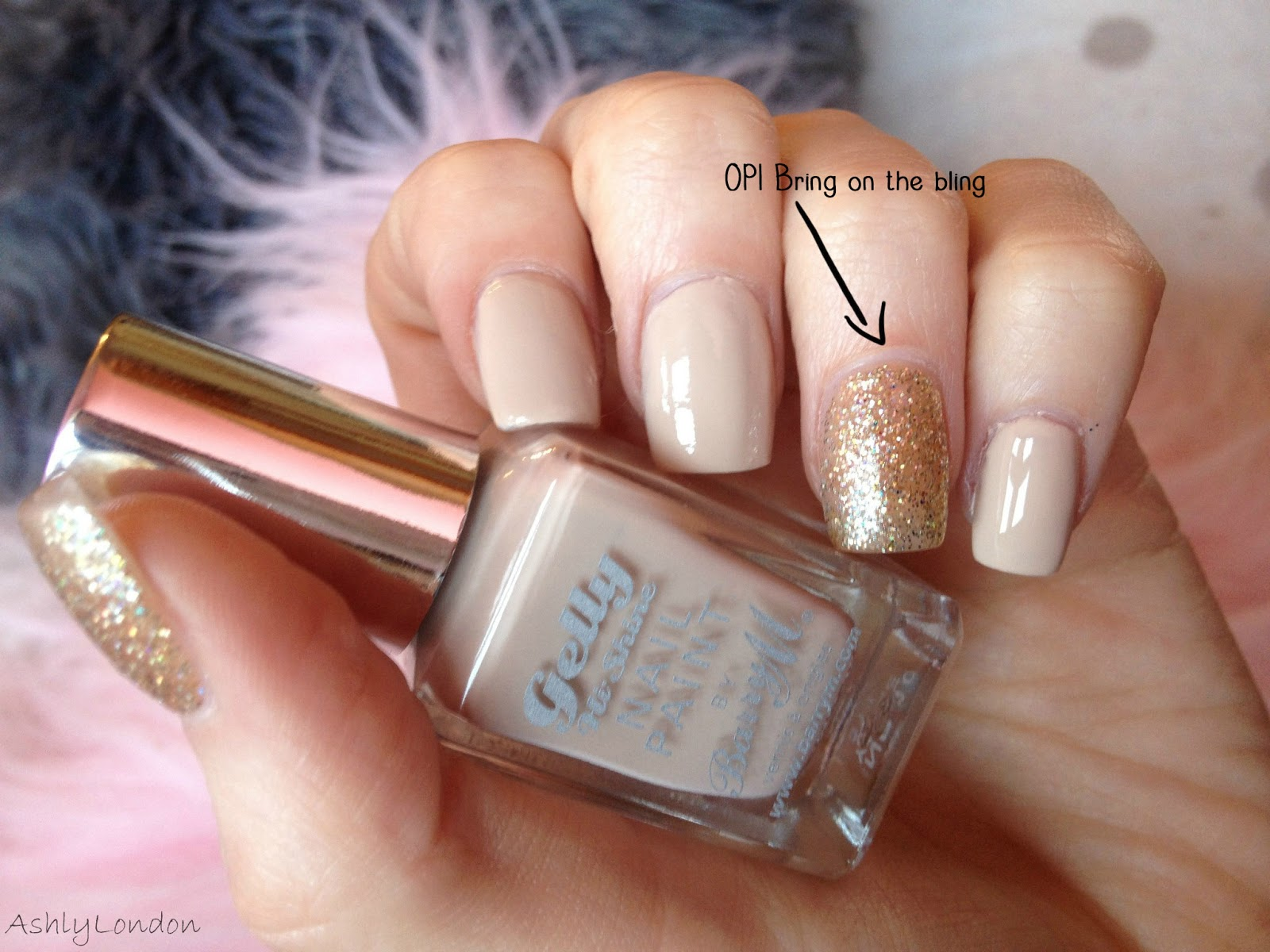 REVIEW | Barry M Gelly Hi-shine Nail Paint in Lychee with ...