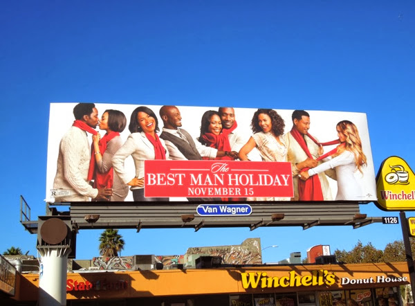 The Best Man Holiday billboard