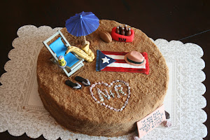 Groom's Beach Cake