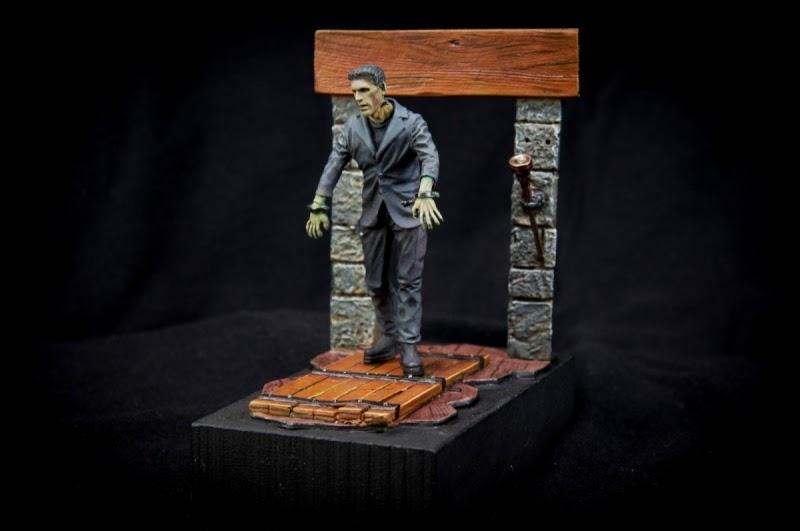 Bottega Moderna - Pensiero Pittura Progressista: Frankenstein...Con quali colori eh stato dipinto?