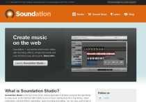 Crear música electrónica online Soundation Studio