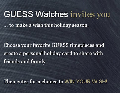 Win Your Wrist Wish From Guess