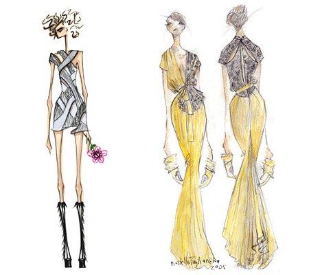 Imagenes de bocetos de dise o de moda imagui for Dibujos de disenos de moda