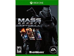 Mass Effect Trilogy portada Xbox One
