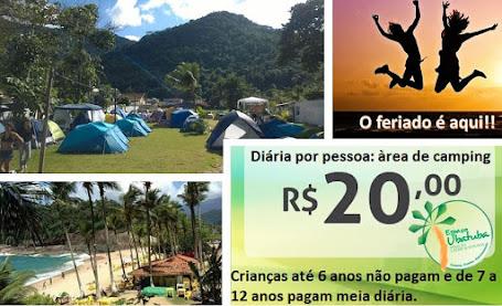 Feriado 02 de Novembro Camping Espaço Ubatuba