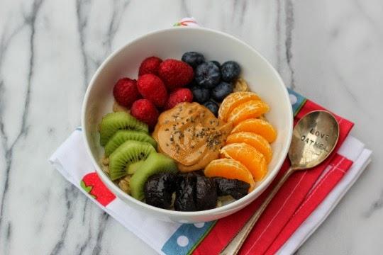 Easy, healthy microwave oatmeal