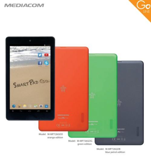 Nuovo tablet Mediacom da 7 pollici con Android KitKat