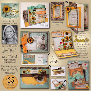 Warm Summer Greetings Card Kit