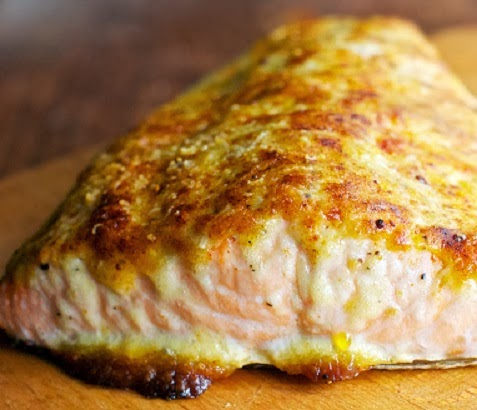 parmesan crusted canadian salmon fresh salmon baked with a parmesan ...