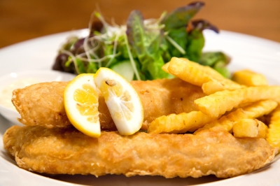 Battered fish recipe egg free gluten free and regular for How to fry fish with egg and flour