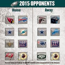 2015 Eagles' Opponents