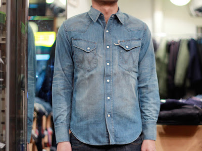 Kemeja Denim Shirt Blues Ville