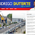 Duterte's website uses Iloilo flyover photo in highlighting accomplishments
