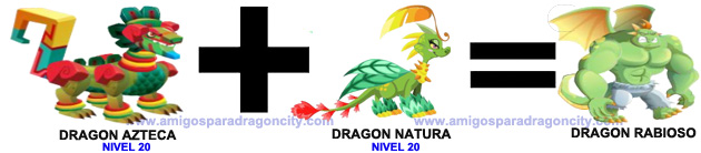 Dragon Rabioso | Amigos Para Dragon City