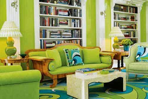 Green-Color-Design-in-Interior