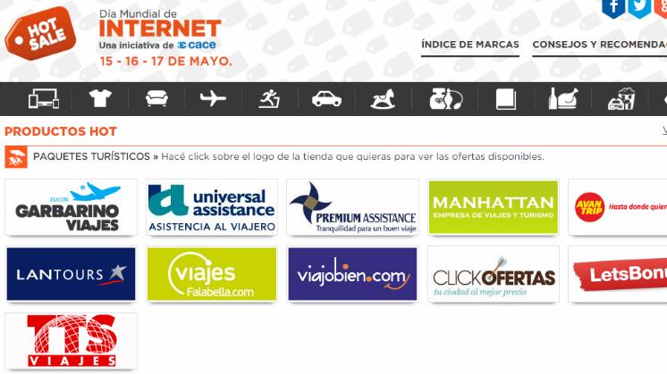 Hot Sale Argentina Ofertas En Viajes Del 15 Al 17 De Mayo