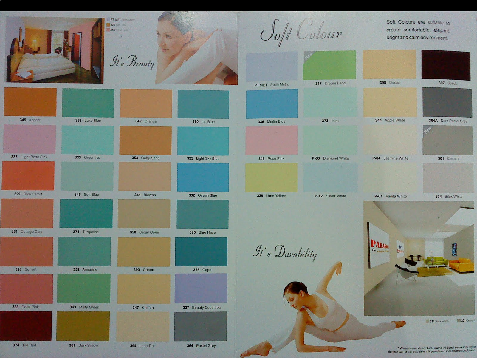 Contoh Warna Cat Catylac Design