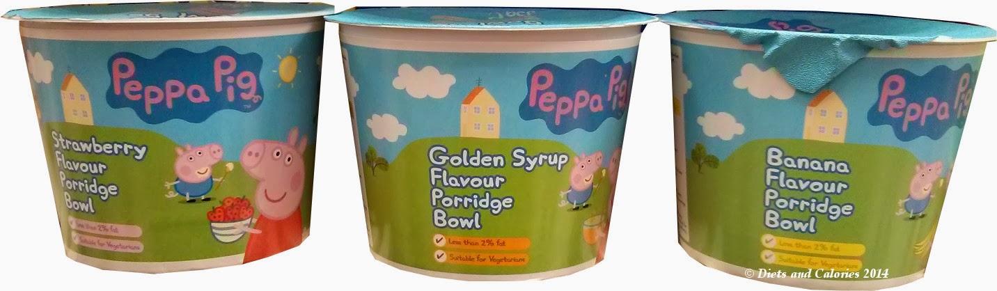 Peppa Pig Porridge Oats