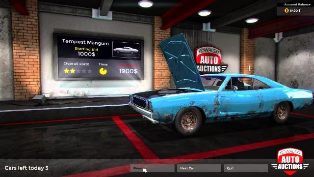 Car Mechanic Simulator 2015 PC Games Gameplay