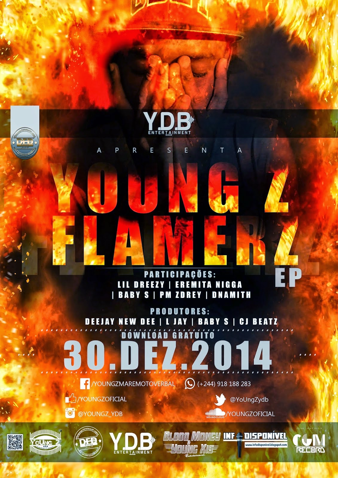 YoUng_Z - EP ``Flamerz´´ 30/12/2014