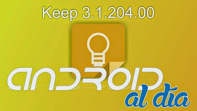 Google Keep 3.1.204.00