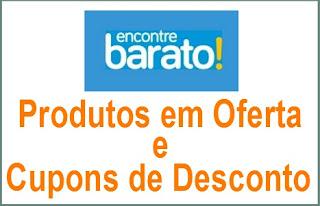 Encontre Barato- Produtos em oferta e cupons de Desconto