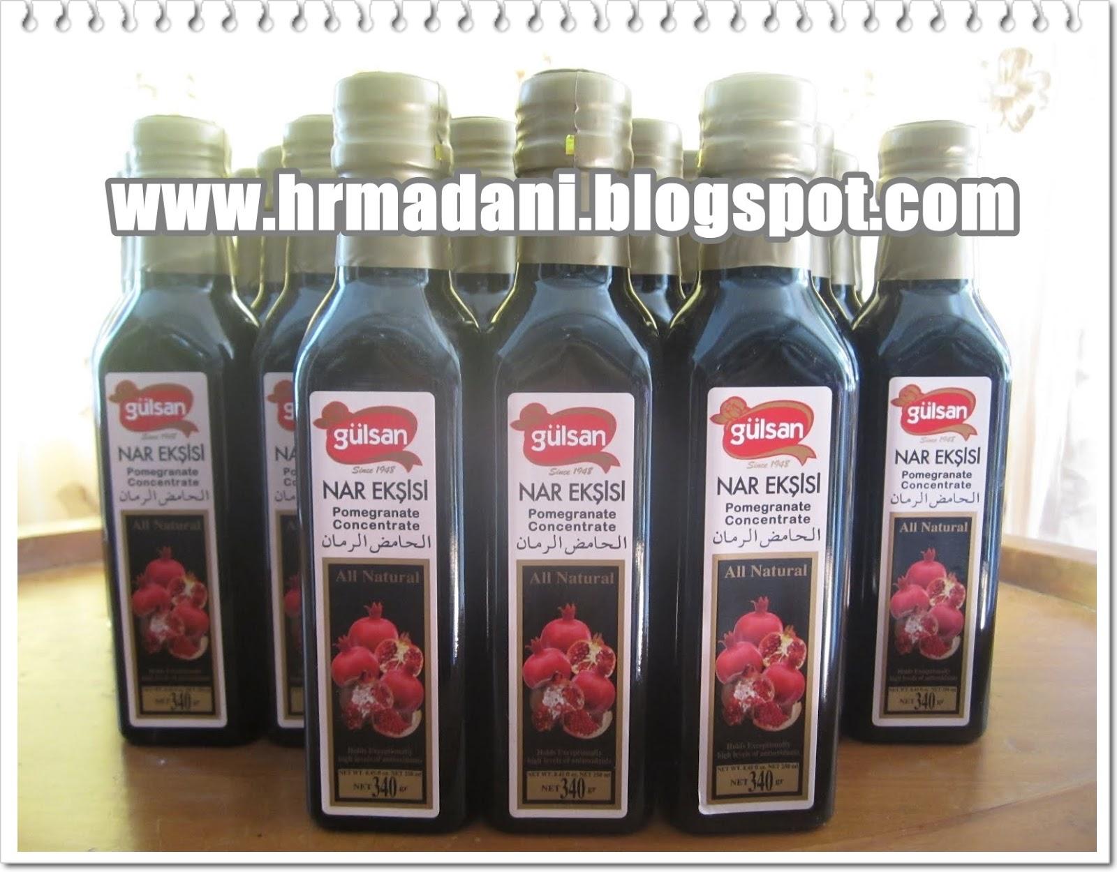 Ramai sedia maklum akan khasiat buah Delima ini antaranya :-