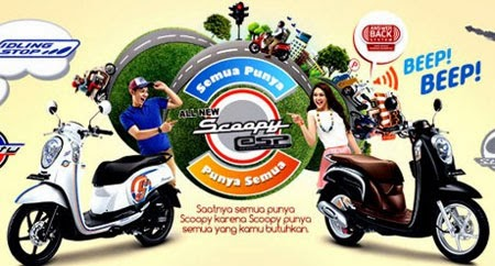 New Honda Scoopy 2015