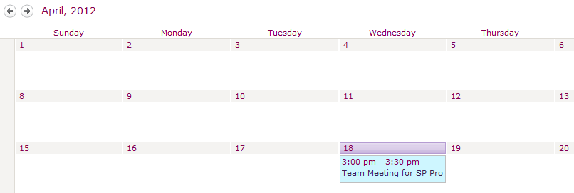 inviting a sharepoint calendar to a meeting