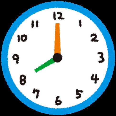 時計 イラスト に対する画像結果