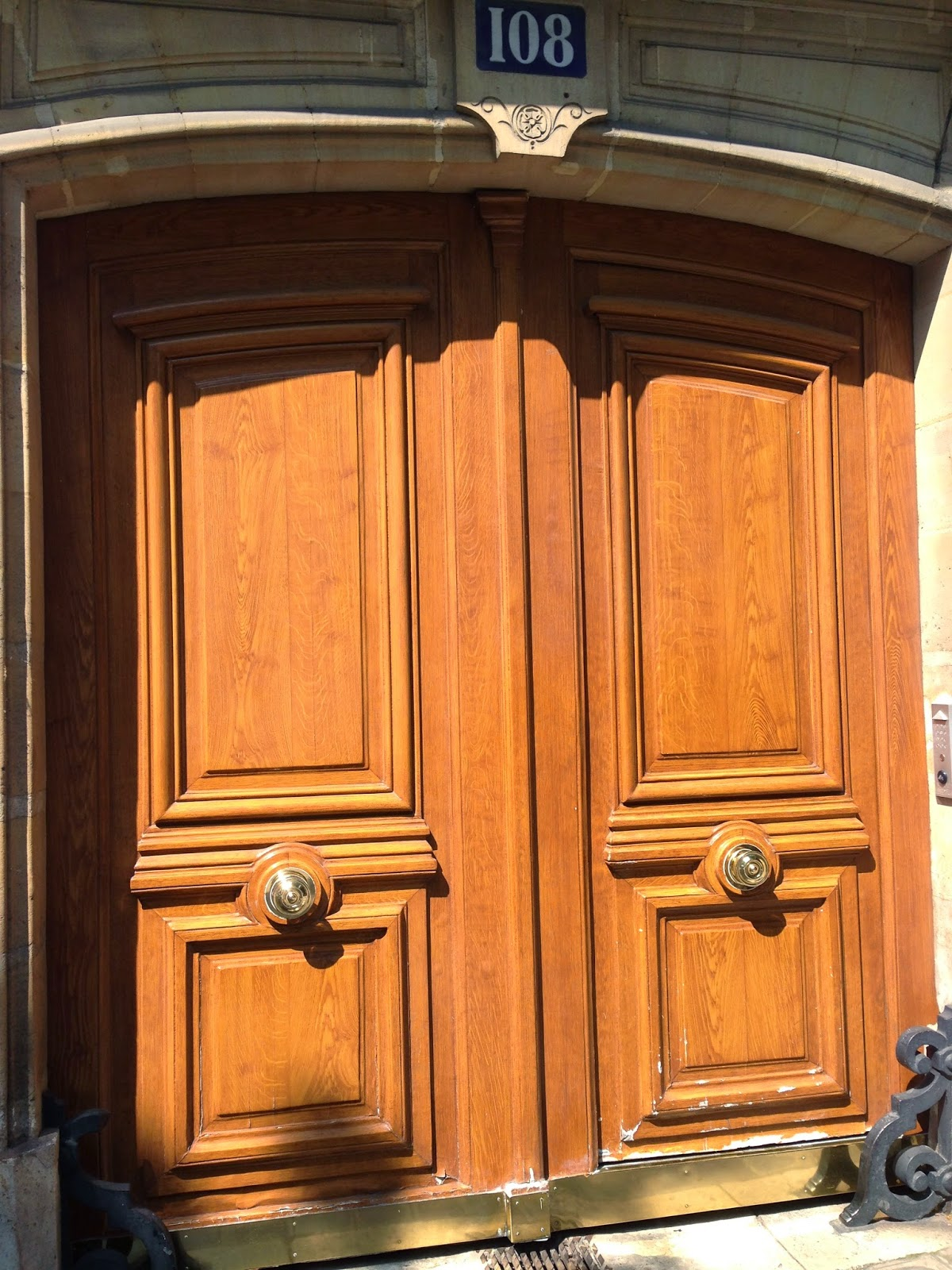 early 19th centruy doors, Paris