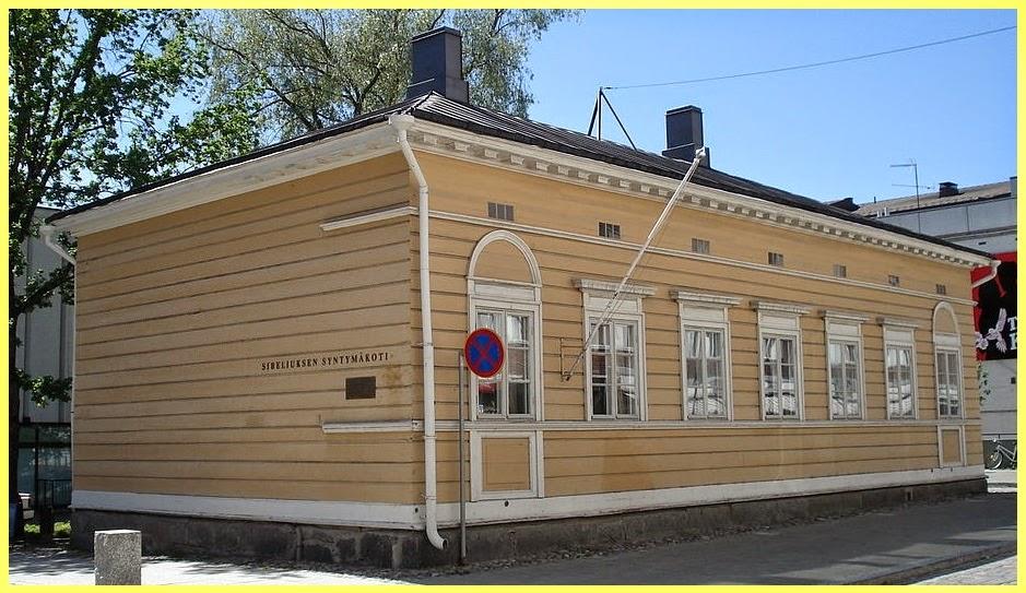 Casa nacimiento Sibelius
