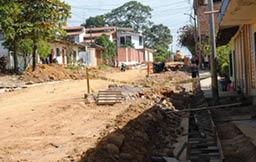 Goresam construye infraestructura vial urbana en Tarapoto