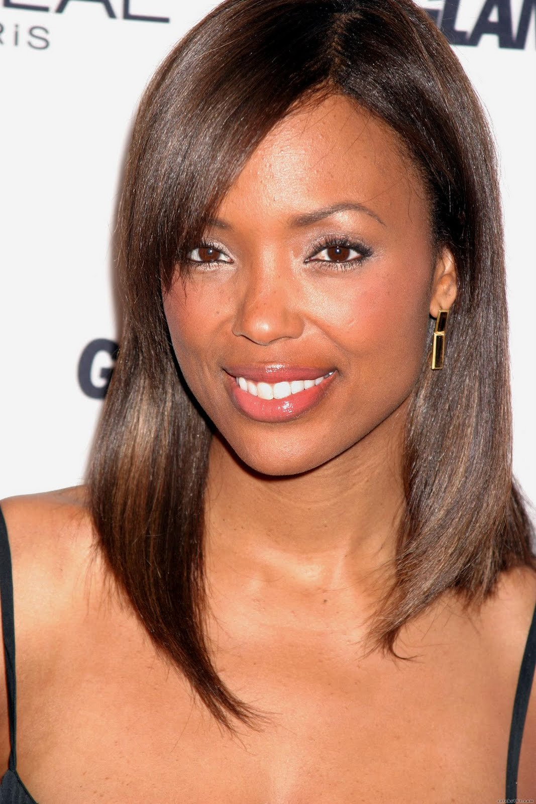 Celebrity Aisha Tyler Long Hairstyles Picture ~ Prom Hairstyles