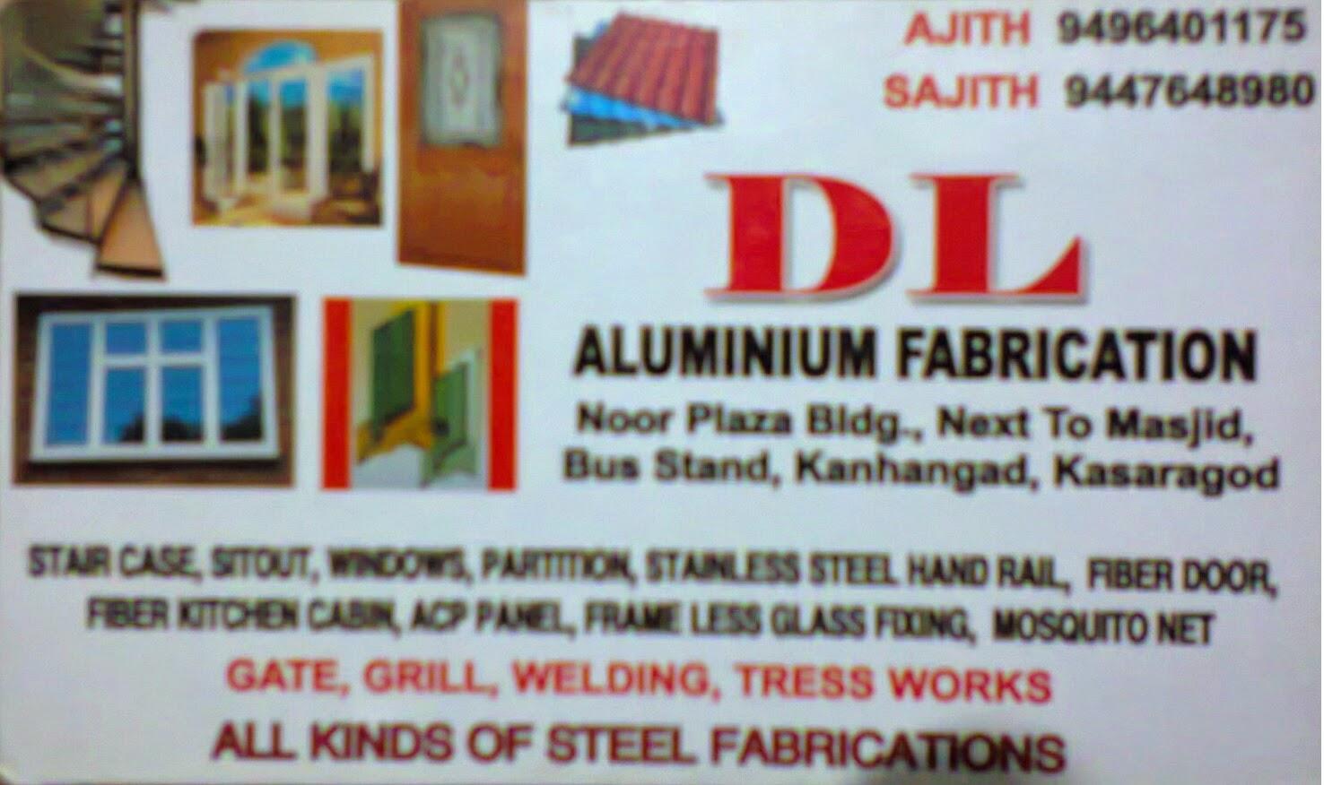 Visiting Card Directory Aluminium Fabrication In Kanhangad