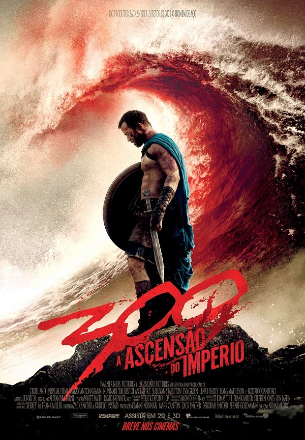 Pôster/capa/cartaz nacional de 300: A ASCENSÃO DO IMPÉRIO (300: Rise of an Empire)